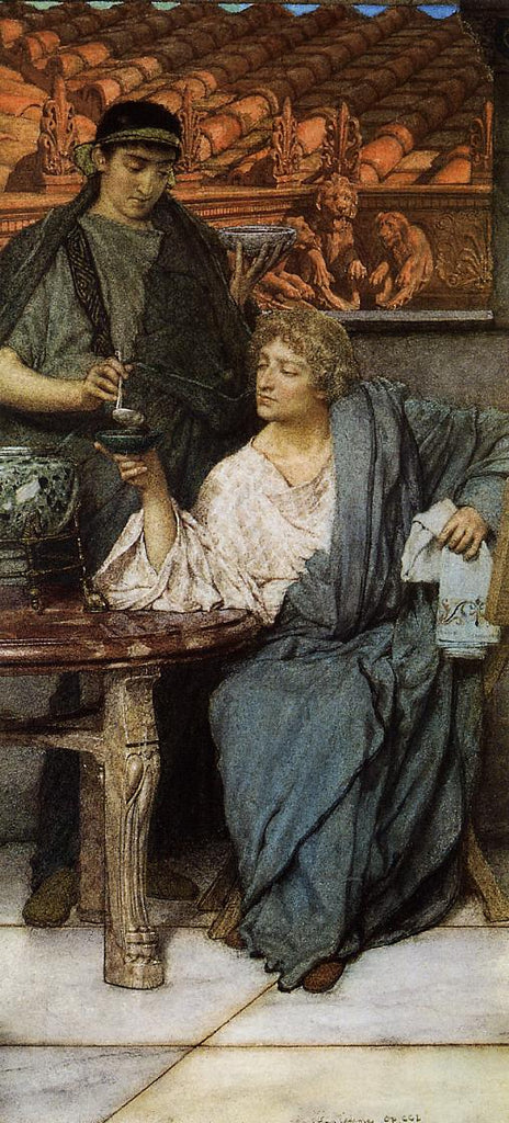 Lawrence Alma-Tadema - The Roman Wine Tasters