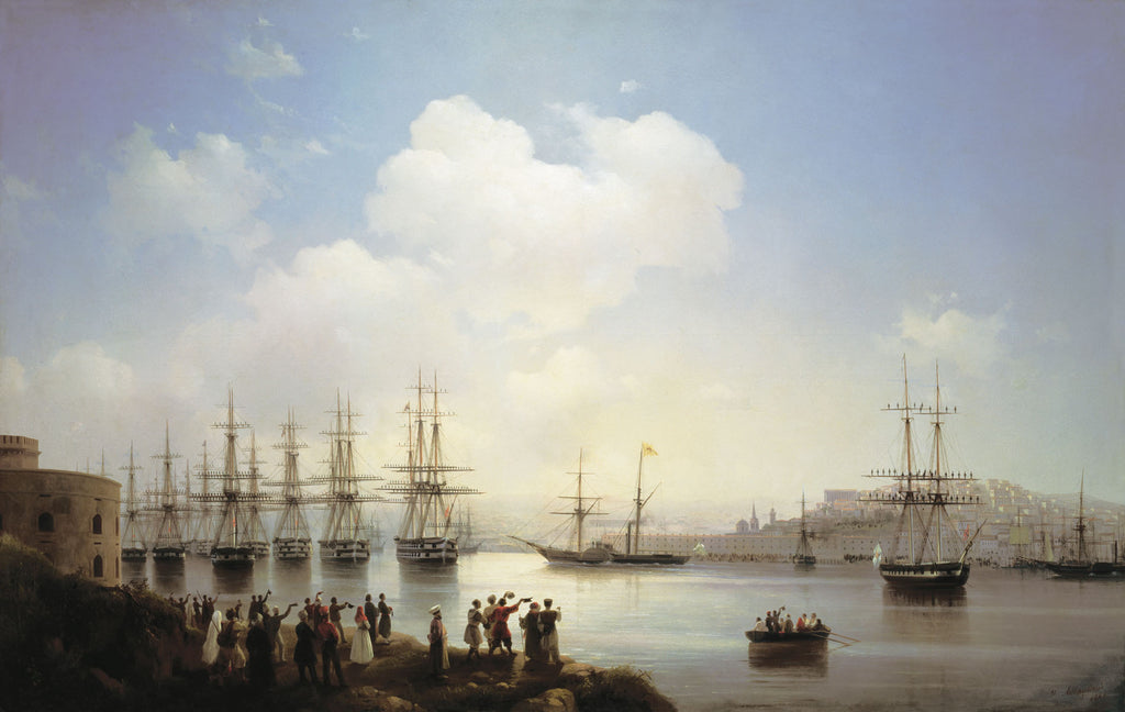 Ivan Aivazovsky - The Russian Squadron on the Sebastopol Roads
