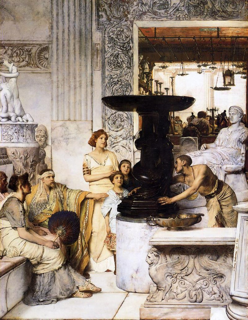 Lawrence Alma-Tadema - The Sculpture Gallery