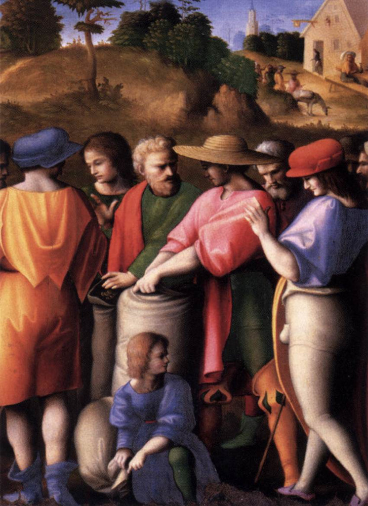 Francesco Bacchiacca - The Search for the Cup