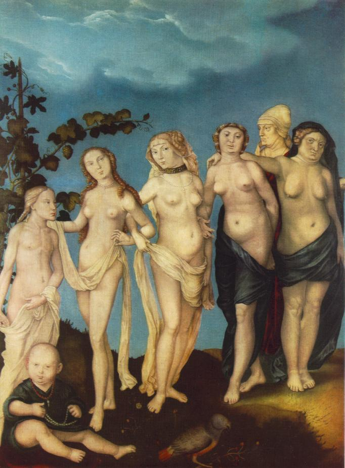 Grien Hans Baldung - The Seven Ages of Woman