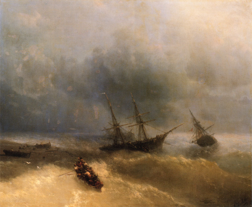 Ivan Aivazovsky - The Shipwreck