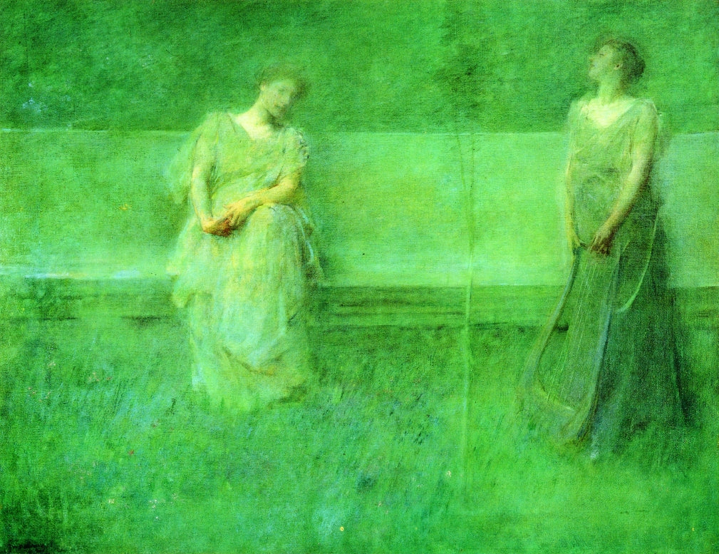 Thomas Wilmer Dewing - The Song