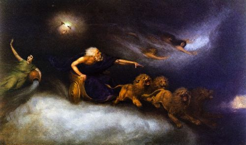 William Holbrook Beard - The Spirit of the Storm