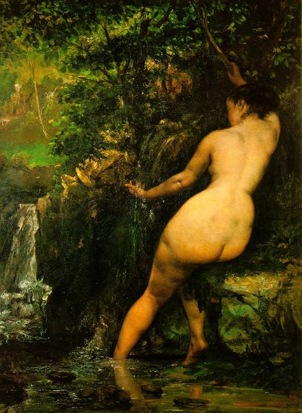 Gustave Courbet - The Spring