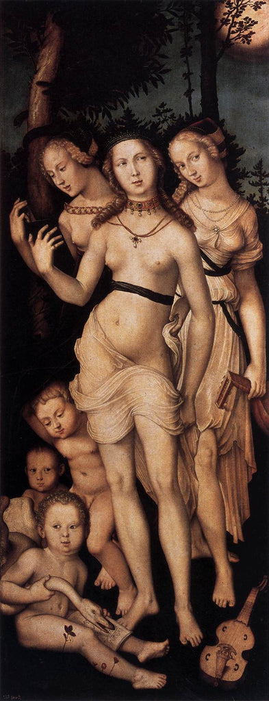 Grien Hans Baldung - The Three Graces