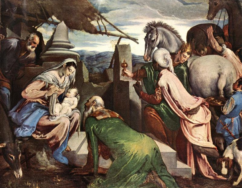 Jacopo Bassano - The Three Magi