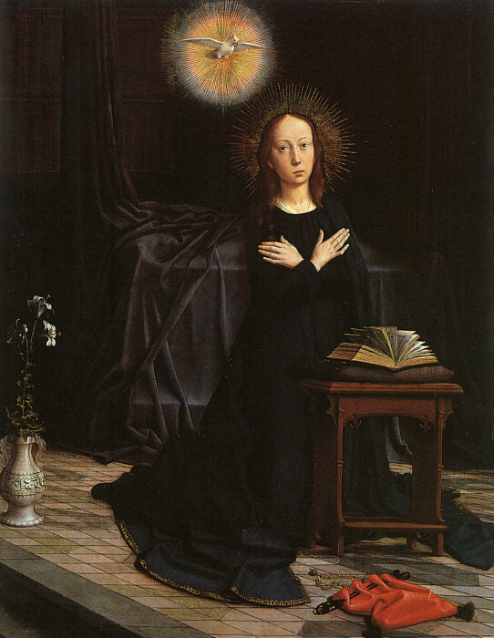Gerard David - The Virgin of the Annunciation b
