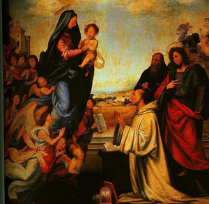 Fra Bartolomeo - The Vision of St Bernard