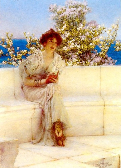 Lawrence Alma-Tadema - The Year's at the Spring. All's Right with the World