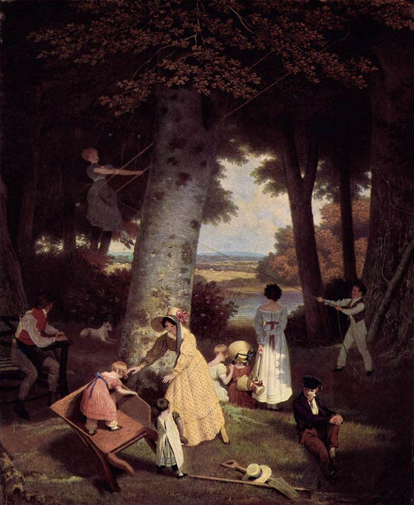 Jacques Laurent Agasse - The playground