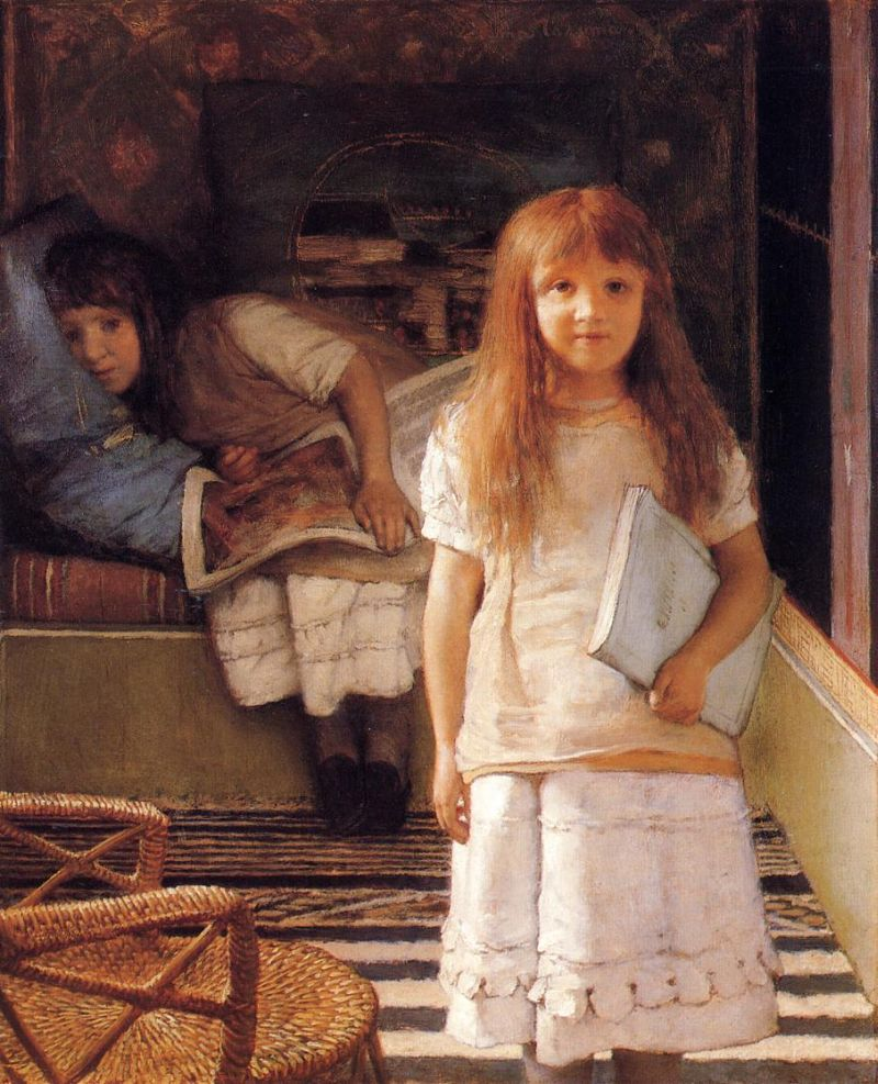 Lawrence Alma-Tadema - This is Our Corner