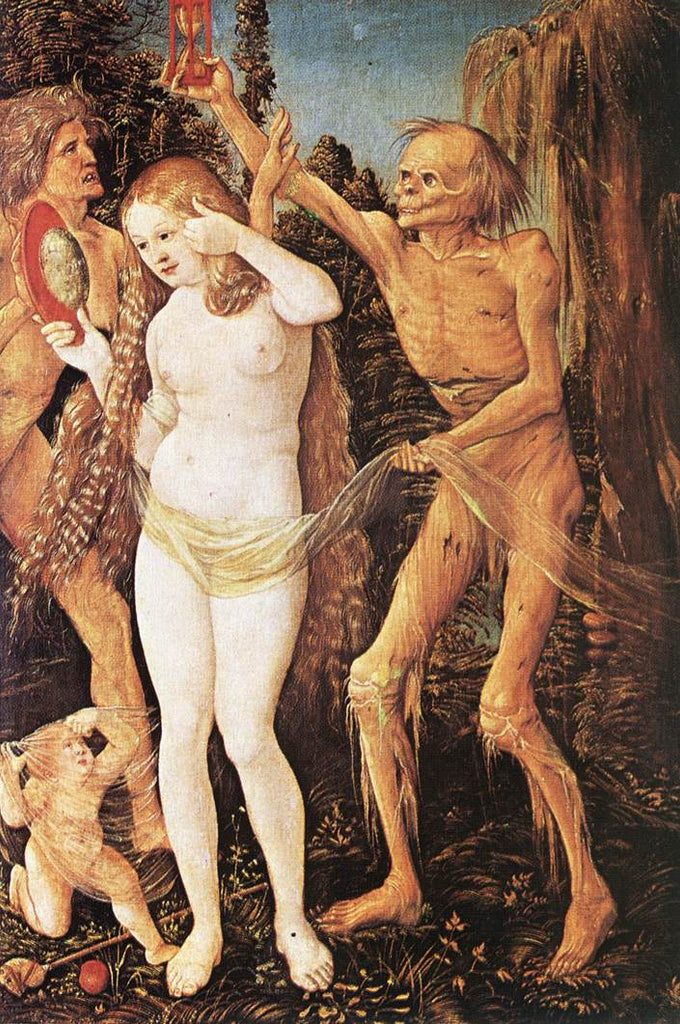 Grien Hans Baldung - Three Ages of the Woman and the Death