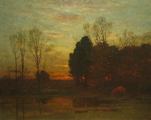 John Joseph Enneking - Tranquility at Sunset