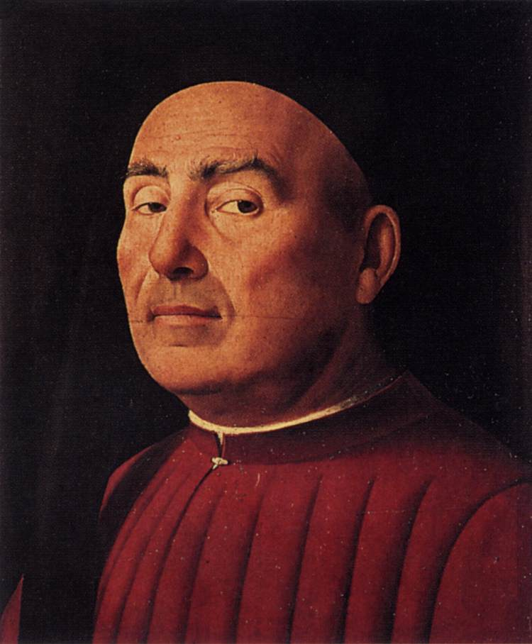 Da Messina Antonello - Trivulzio Portrait