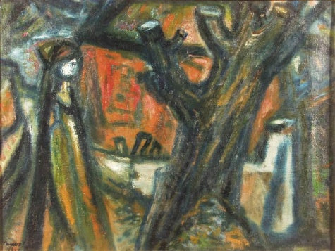 Imre Amos - Truncated Tree