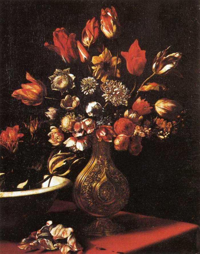 Carlo Dolci - Vase of Flowers