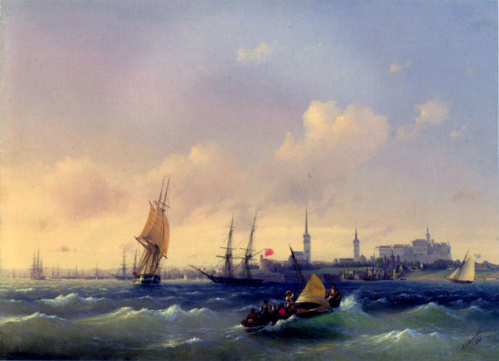 Ivan Aivazovsky - View of Reval