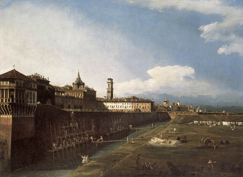 Bernardo Bellotto - View of Turin near the Royal Palace