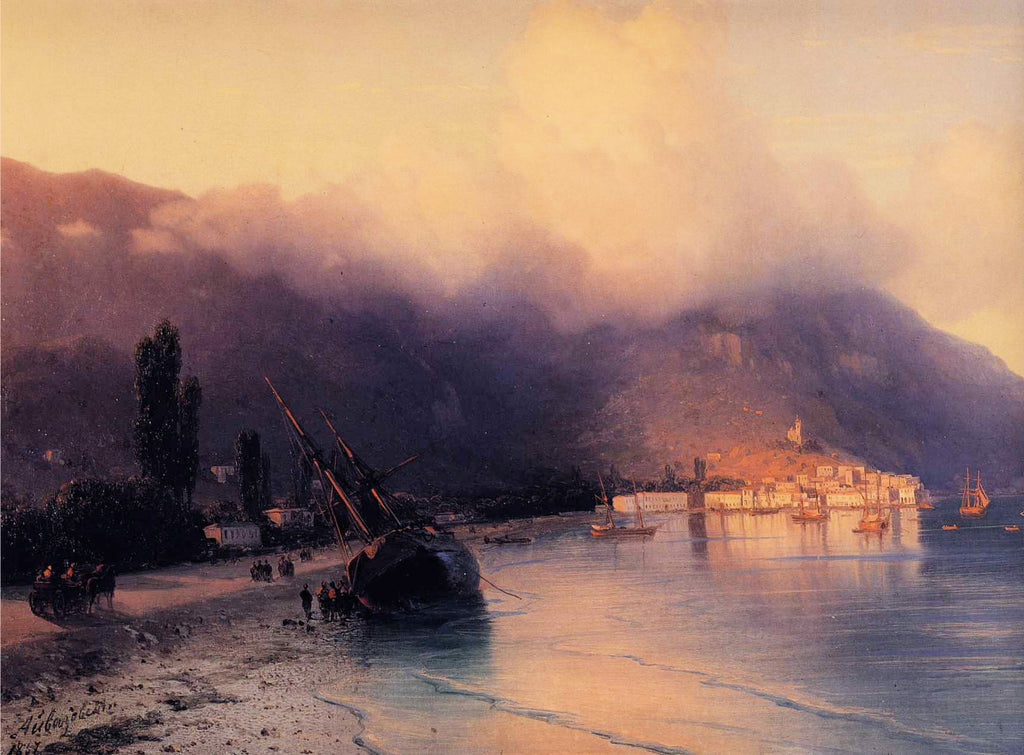 Ivan Aivazovsky - View of Yalta