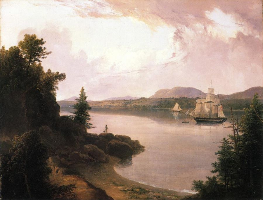 Thomas Doughty - View on the St. Croix River near Robbinston