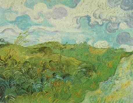 Gogh Vincent Van - Green Wheat Fields