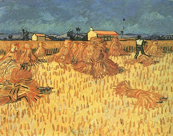 Gogh Vincent Van - Harvest in Provence
