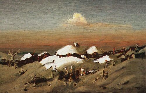 Kuindzhi Arhip - Winter 2 1890 1895