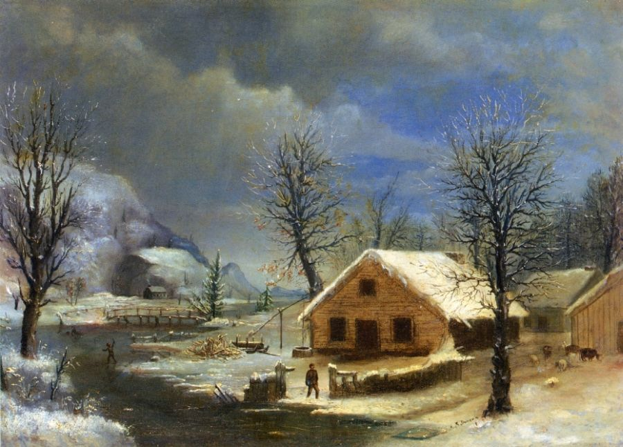 Robert Scott Duncanson - Winter