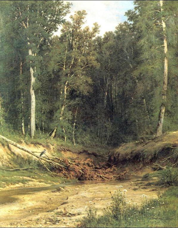 Ivan Shishkin - Woodland Brook