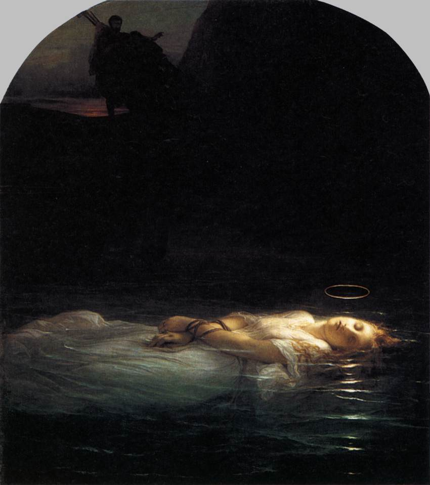 Paul Delaroche - Young Christian Martyr