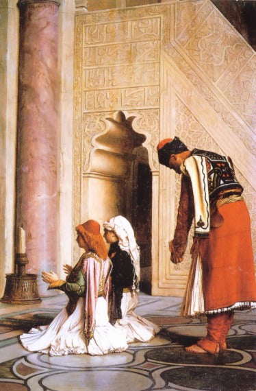 Jean-Leon Gerome - Young Greeks at the Mosque