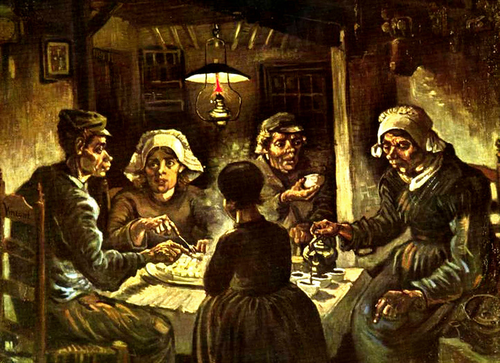 Gogh Vincent Van - The Potato Eaters