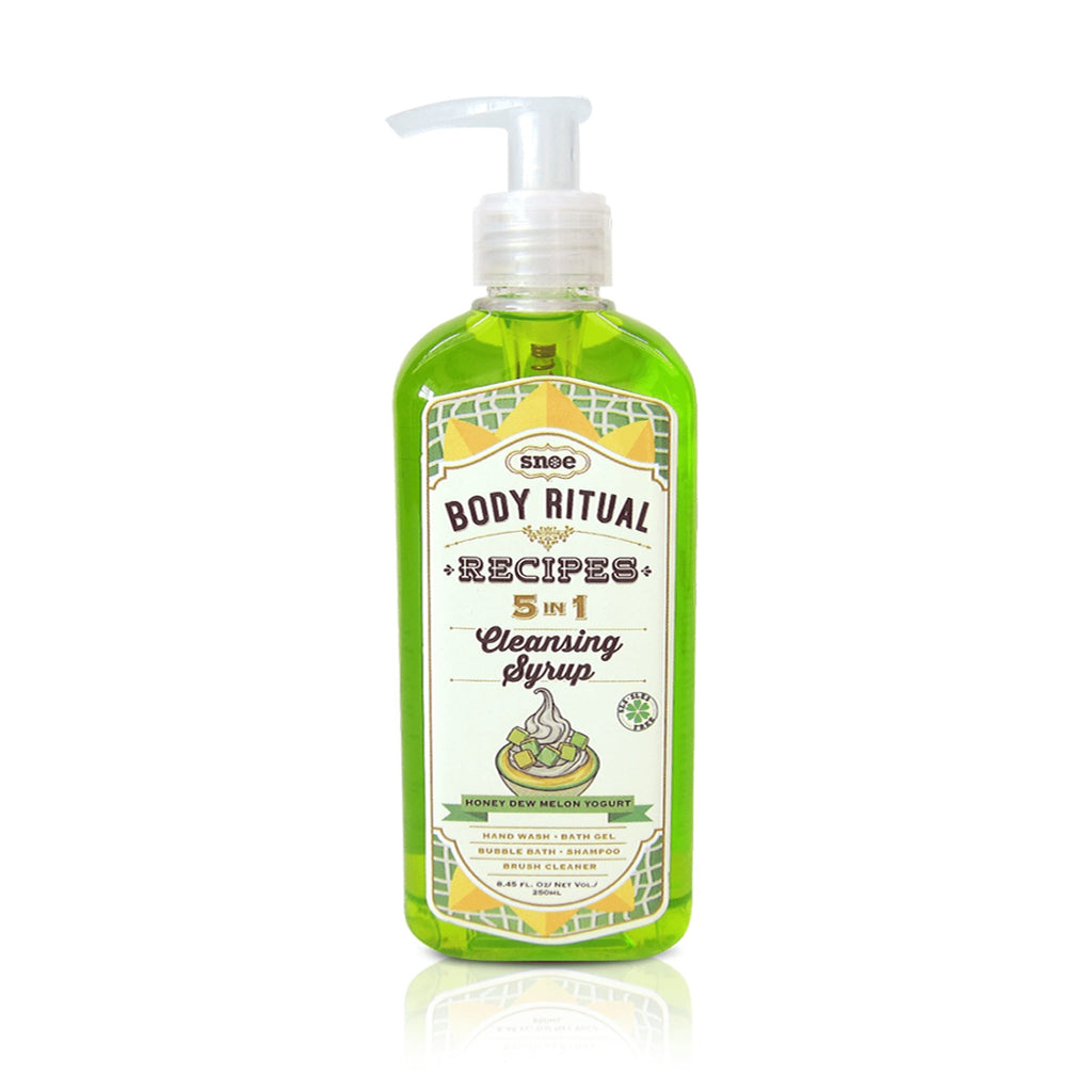 Bath & Body - 5-in-1 Cleansing Syrup In HONEY DEW MELON YOGURT
