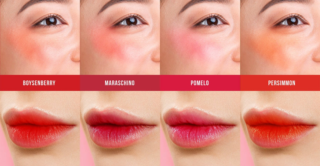 Lip and Cheek Tint - Antioxidant Lip and Cheek Stain in POMELO