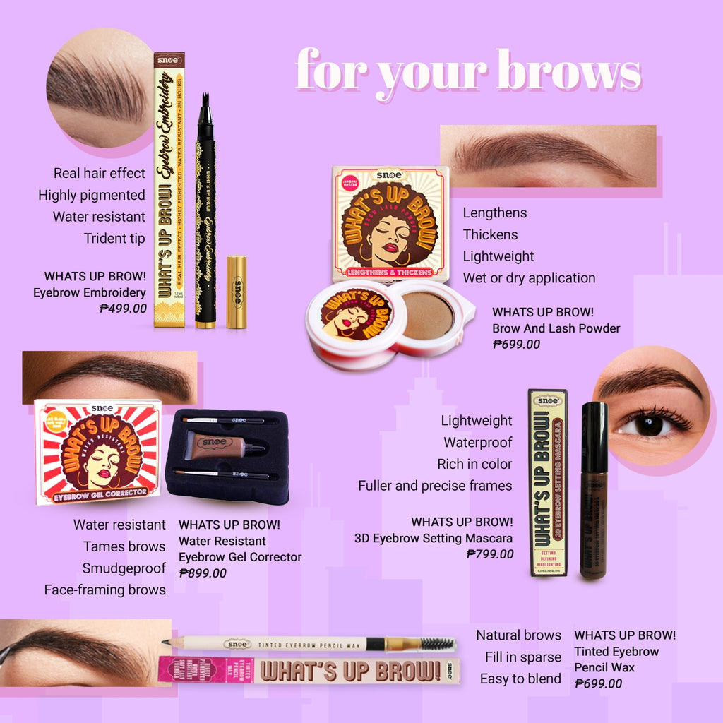 Eyebrow Embroidery - Eyebrow Embroidery In OCHRE
