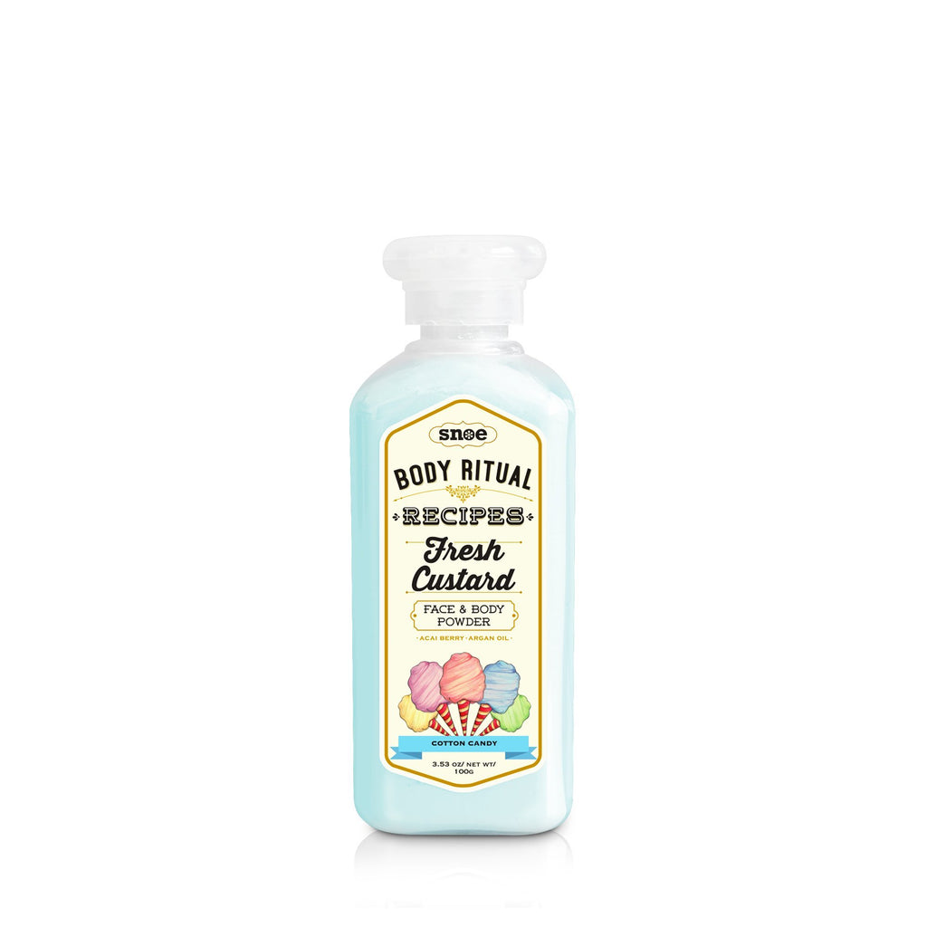 Powder - Fresh Custard Face & Body Powder In COTTON CANDY