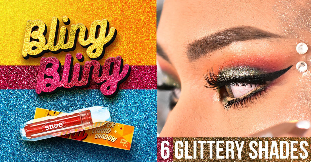 Liquid Eye Shadow - Glitter Liquid Eyeshadow in GUN METAL