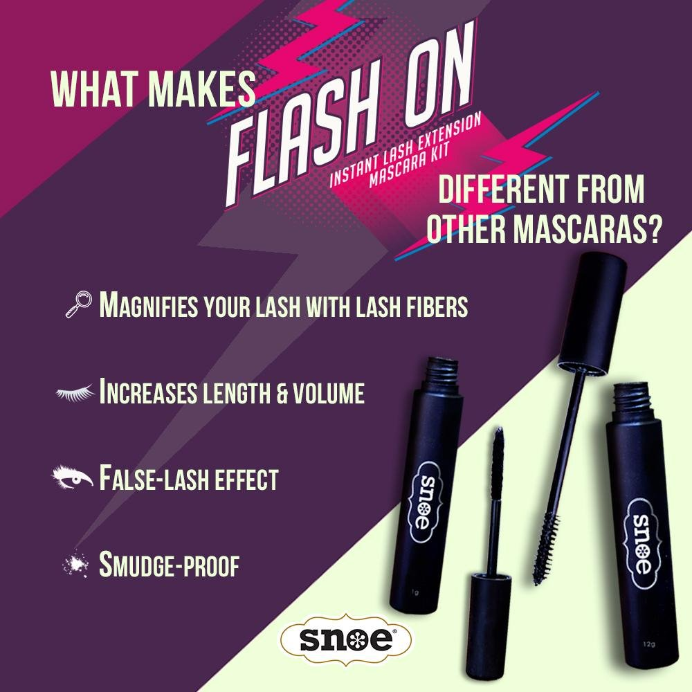 Makeup - Instant Lash Extension Mascara Kit