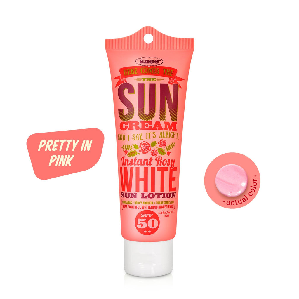 Sunblock - Instant Rosy White Sun Face & Body Lotion SPF 50++