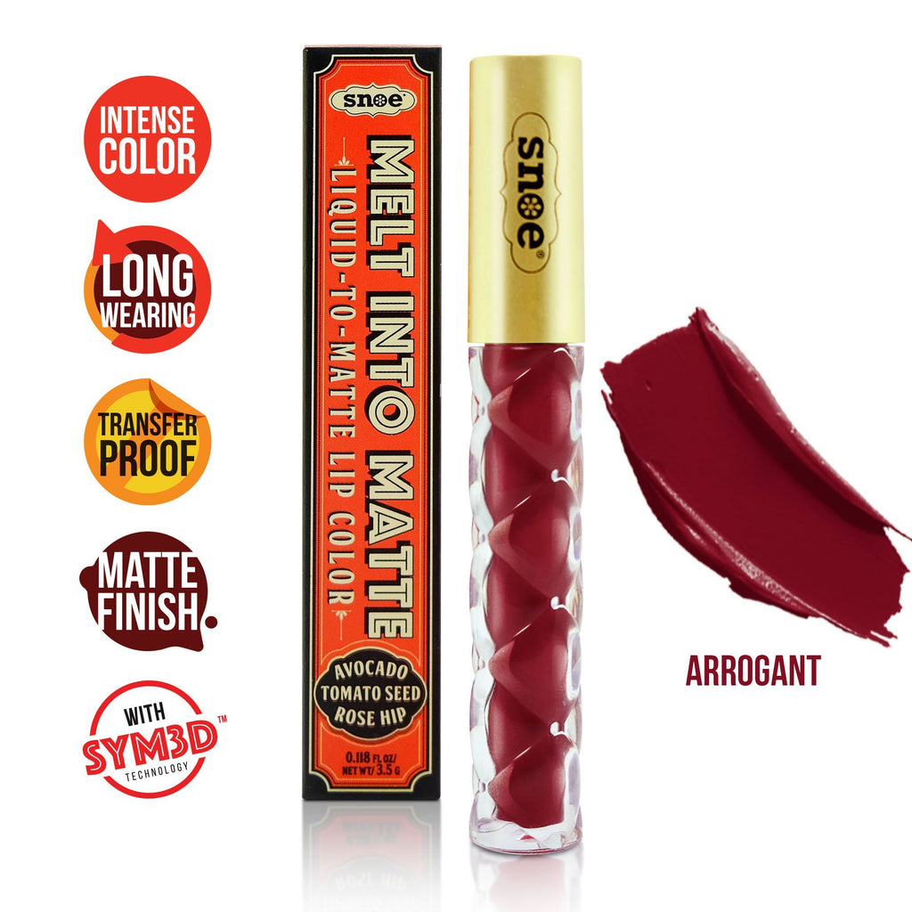 Lipstick - Liquid to Matte Lip Color Liquid Lipstick in ARROGANT