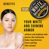 Skin Care - Special Black Whitening Scrub Mask Bundle Set | Skin Brightening