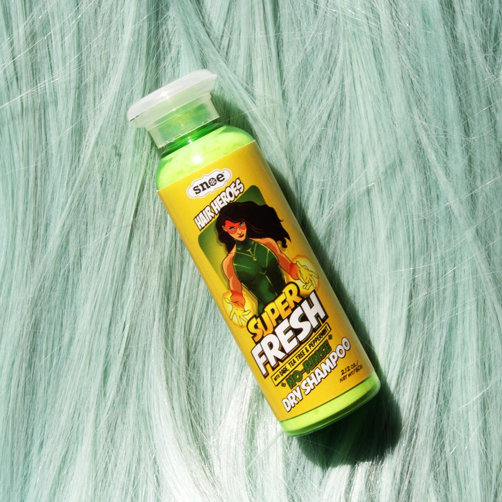 Haircare - Super Fresh No-Rinse Dry Shampoo