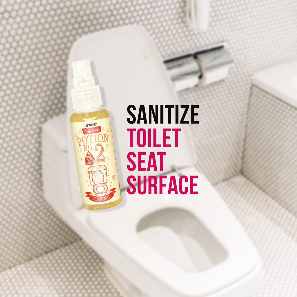 Toilet Seat Sanitizer Spray - Toilet Seat Sanitizer Spray In RAIN