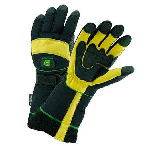 Lined Deerskin Ski Gloves- Men