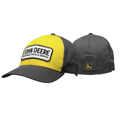 Mens Yellow Front Stretchband Cap LP67029