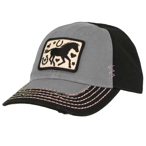 Horse Silhouette Girls Cap -LP70992