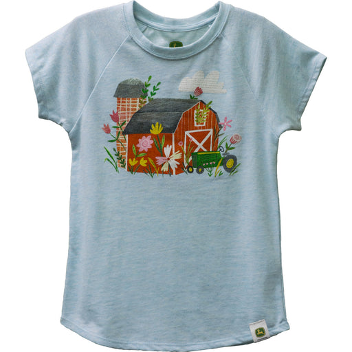 Girl Child Tee Flower Barn LP72218