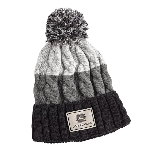 Womens Striped Beanie