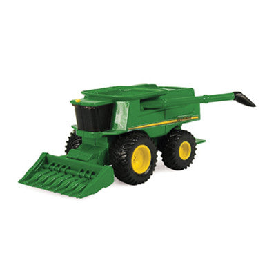 John Deere Mini Combine with Corn Head